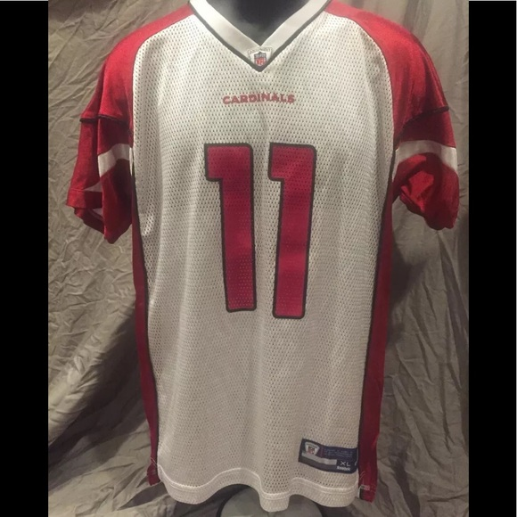 cheap for discount 48f2f 8f2c4 Reebok NFL Larry Fitzgerald Cardinals Jersey